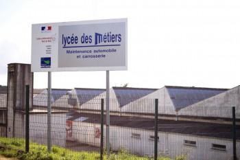 Lycée des Métiers -rue de Logodec