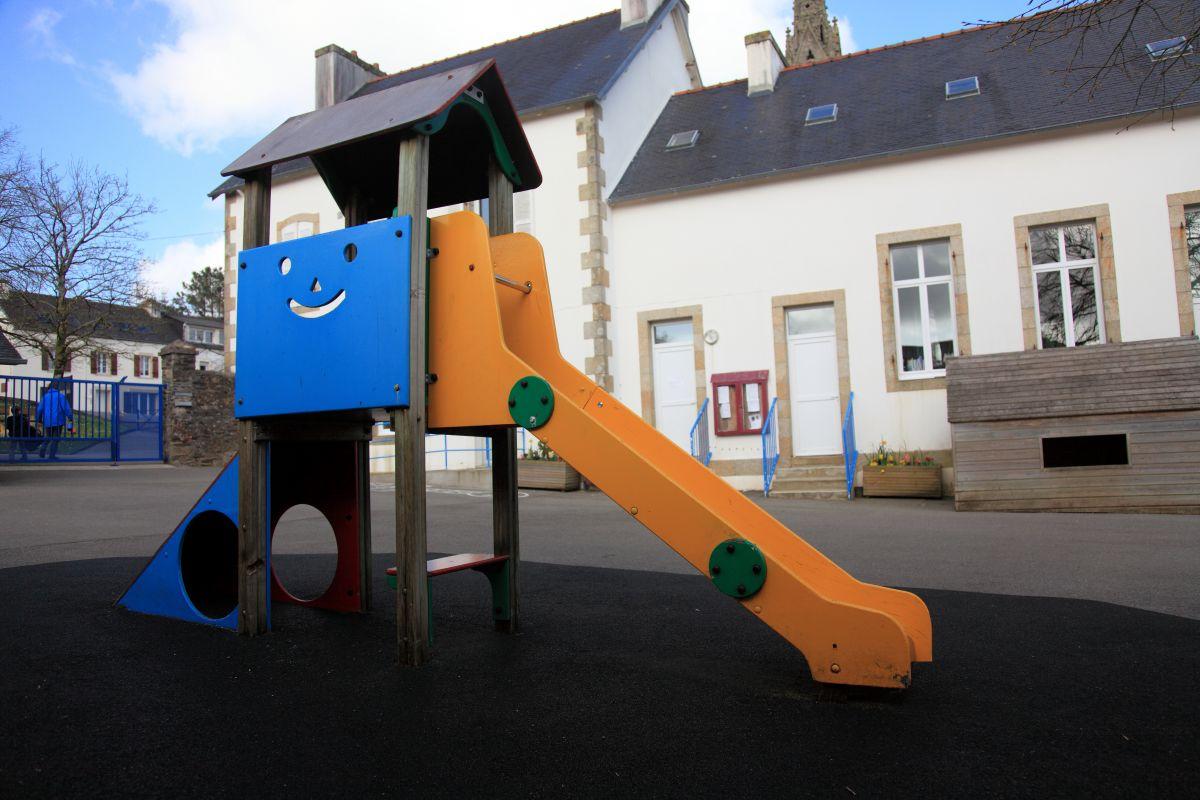 Ecole maternelle Josette et Jean Cornec - rue Albert Louppe