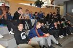 Les élèves attentifs
