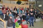 Philippe Baron et le public