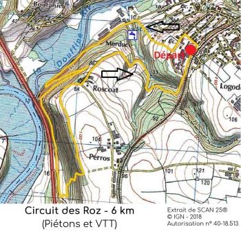 Circuit des Roz pour SI