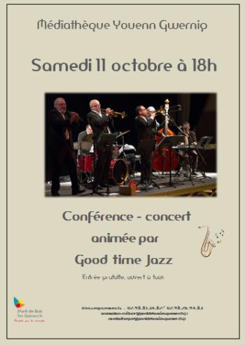 conférence concert par Good Time Jazz
