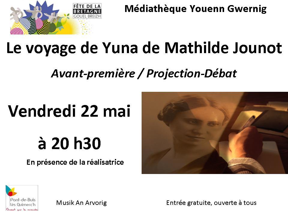 le voyage de yuna mathilde jounot