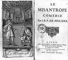 Le Misanthrope de Molière, pièce de théâtre.