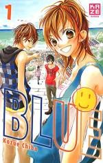 """La série """"Blue"""" de Kozue Chiba, BD-CHI"""