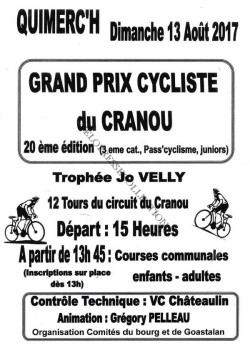 Trophée Jo Velly Goastalan 2017