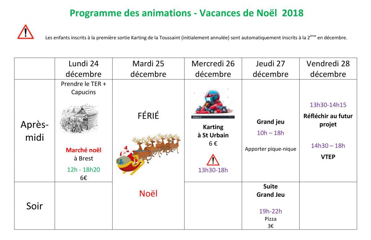 2018.12 prgm vacs Noël 2018 - EspJ