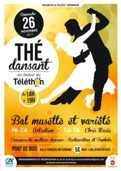 Thé dansant - 2017.11.26 - N&F