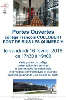 Collège - Portes ouvertes 2018