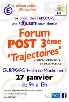 Forum post 3ème - 2018.01.27
