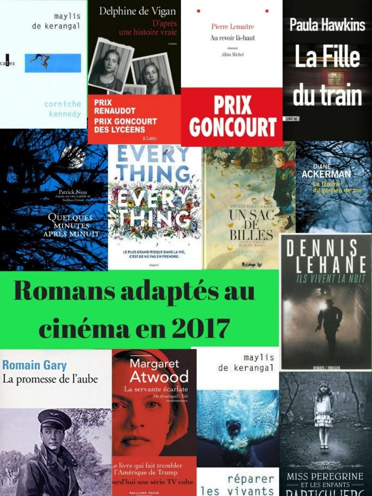 Romans adaptés au cinéma en 2017