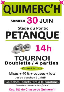 Pétanque Quimerc'h - 2018.06.30
