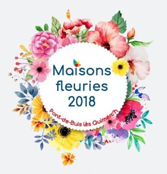 Maisons fleuries 2018