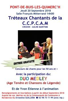 Tréteaux chantants 2018