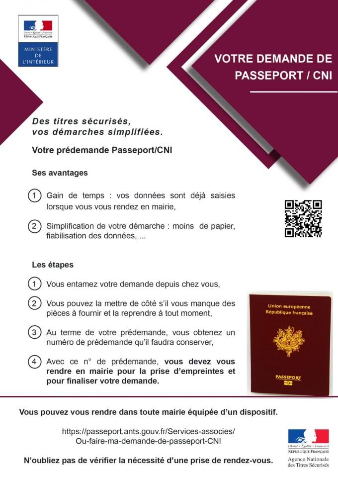 Affiche Passeport