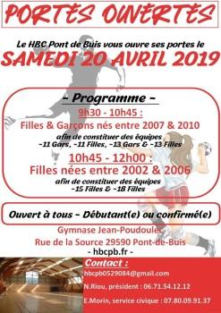 Hand - Portes ouvertes - 2019.04.20