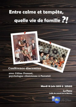 Conférece famille -Le Faou - 2019.06.18