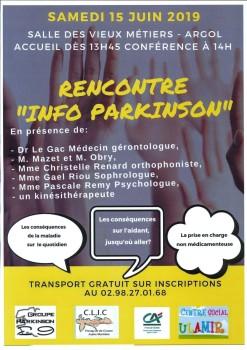 Conférence Parkinson - Argol - 2019.06.15