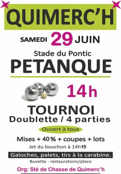 Pétanque Quimerc'h - 2019.06.29