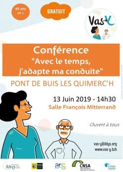 affiche conf conduite PONT DE BUIS LES QUIMERCH