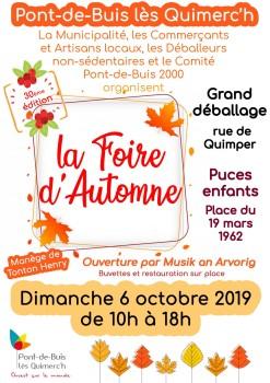 Foire d'automne 2019
