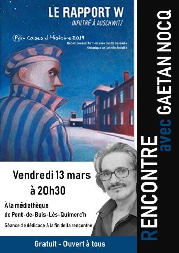 Affiche GAétan Nocq - 2020