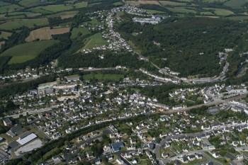 Pont-de-Buis lès Quimerc'h au début des années 2000 Commune de Pont-de-Buis lès Quimerc'h