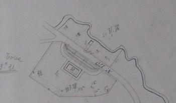 Plan du magasin à poudre Archives de la poudrerie
