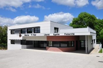 locaux de la Mairie de Pont-de-Buis lès Quimerc'h