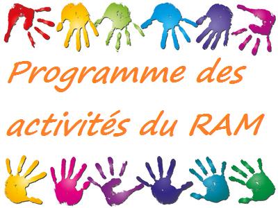 Relais Assistantes Maternelles - Programme