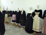 exposition sur le costume réalisée dans le cadre des journées du patrimoine