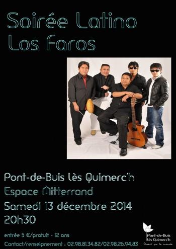 affiche soirée latino décembre 2014
