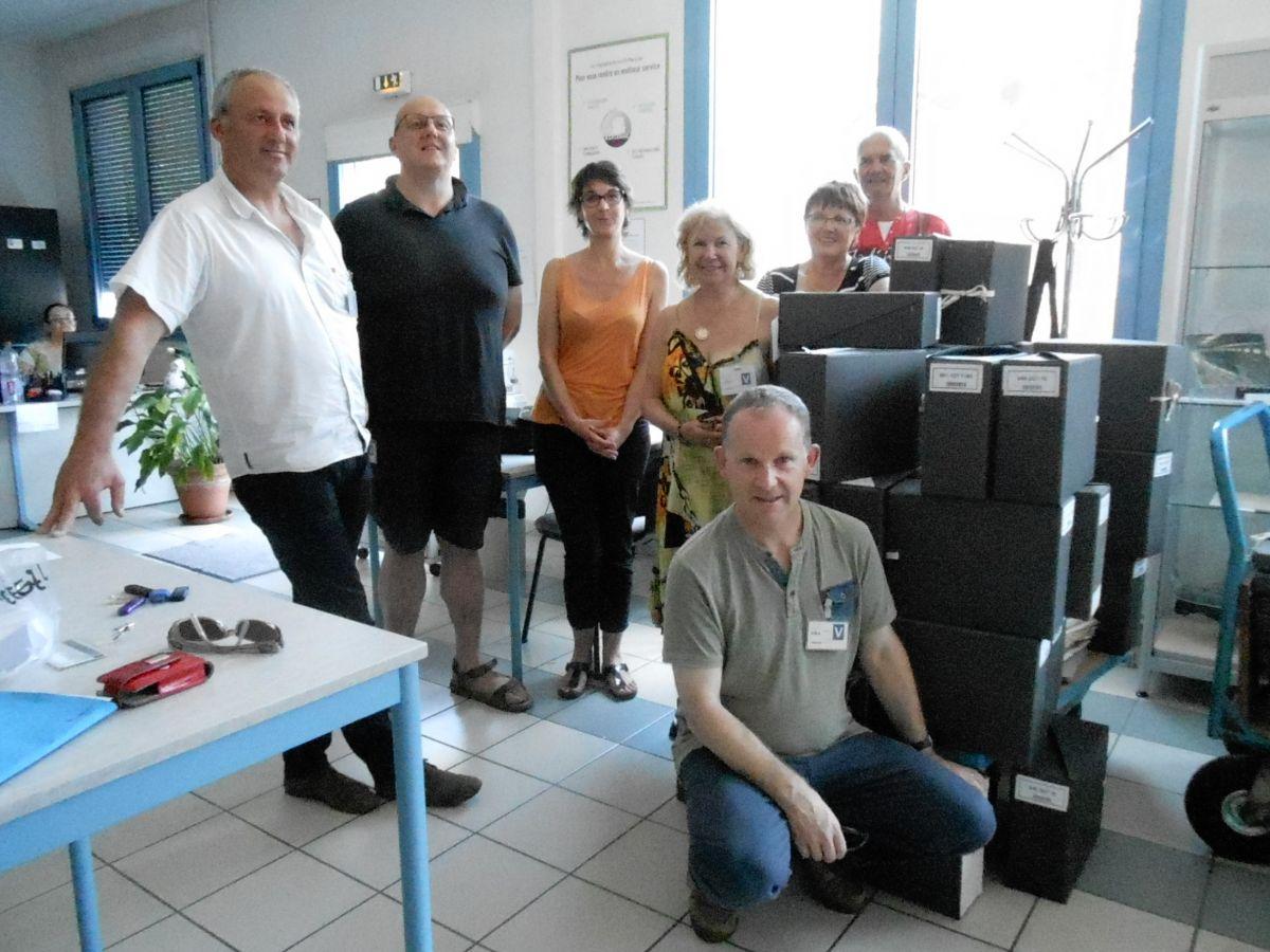 Le groupe de travail à Châtellerault