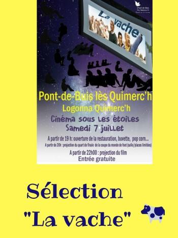Sélection _La vache_Cinéma plein air