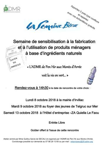Semaine bleue - ADMR