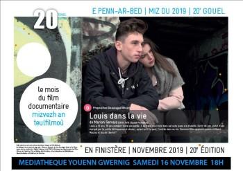 Louis dans la vie affiche