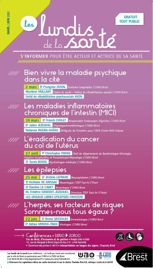 Lundis de la santé - 2020.03